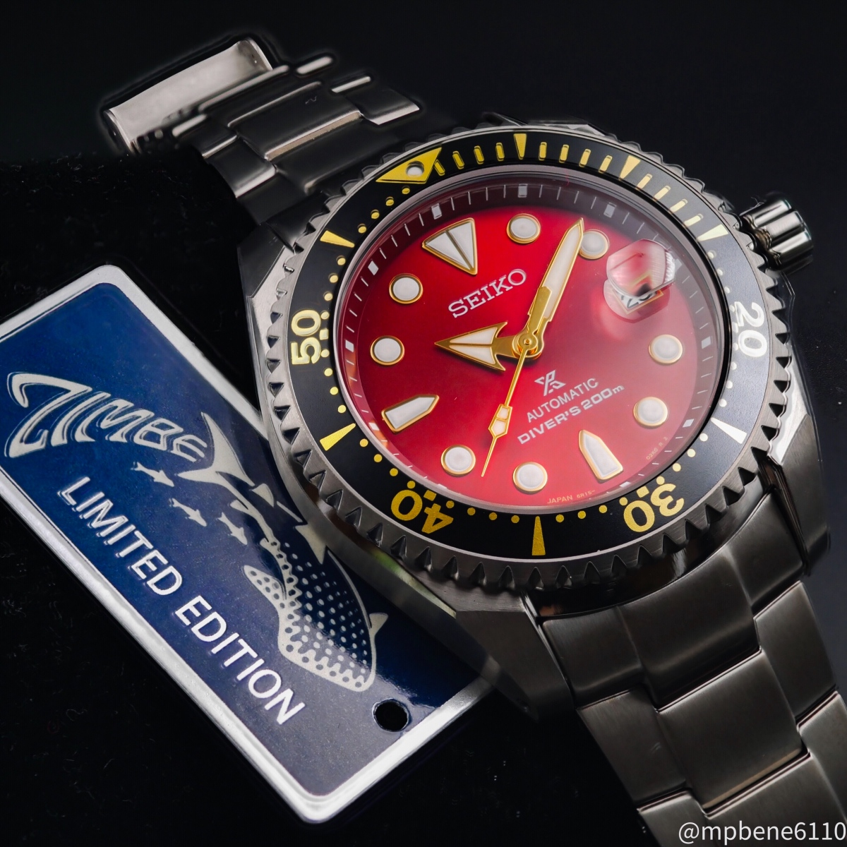 The Red Side of Life – Seiko Shogun Zimbe Red (SPB099)