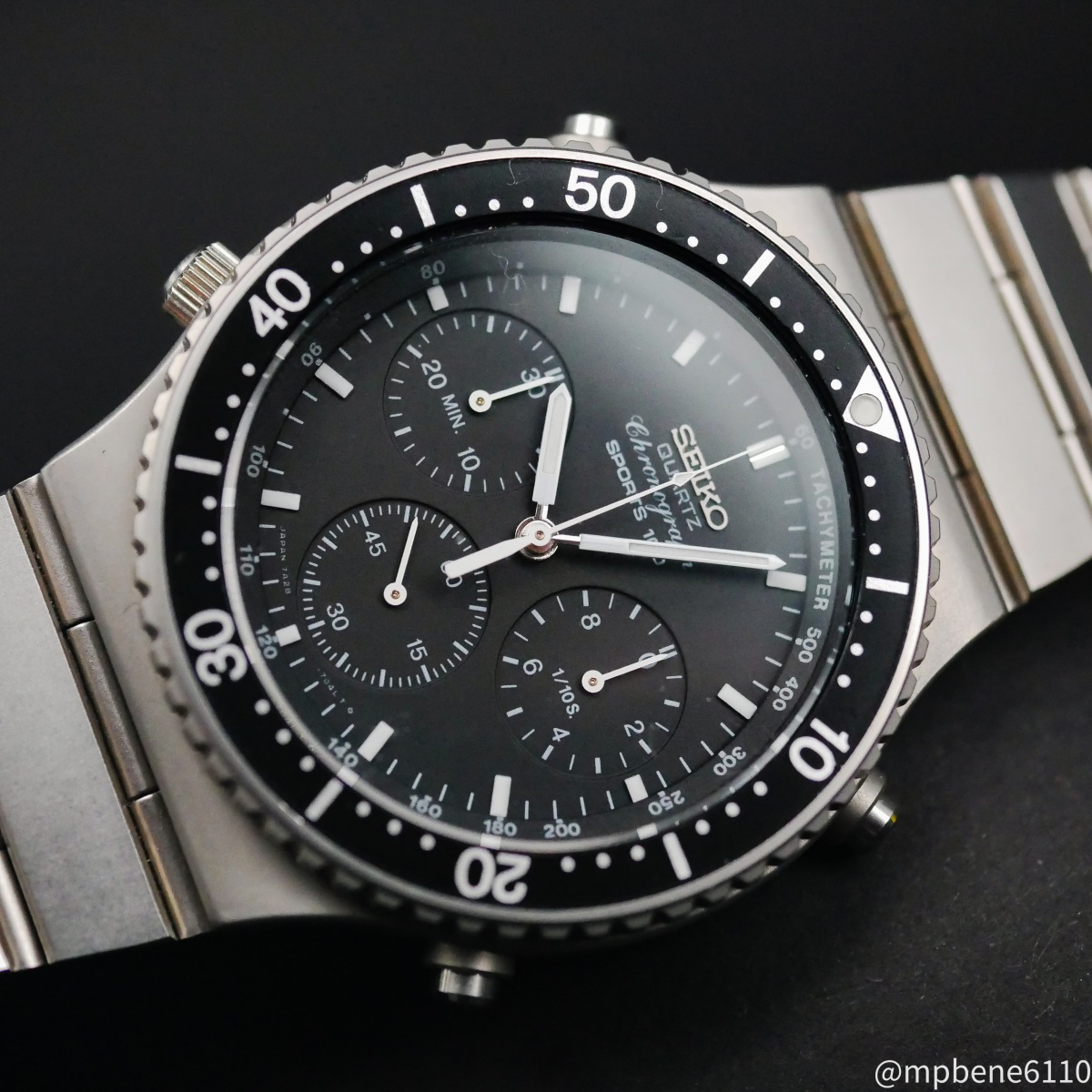 Seiko 7A28-7040 – Quartz Chronograph went analog