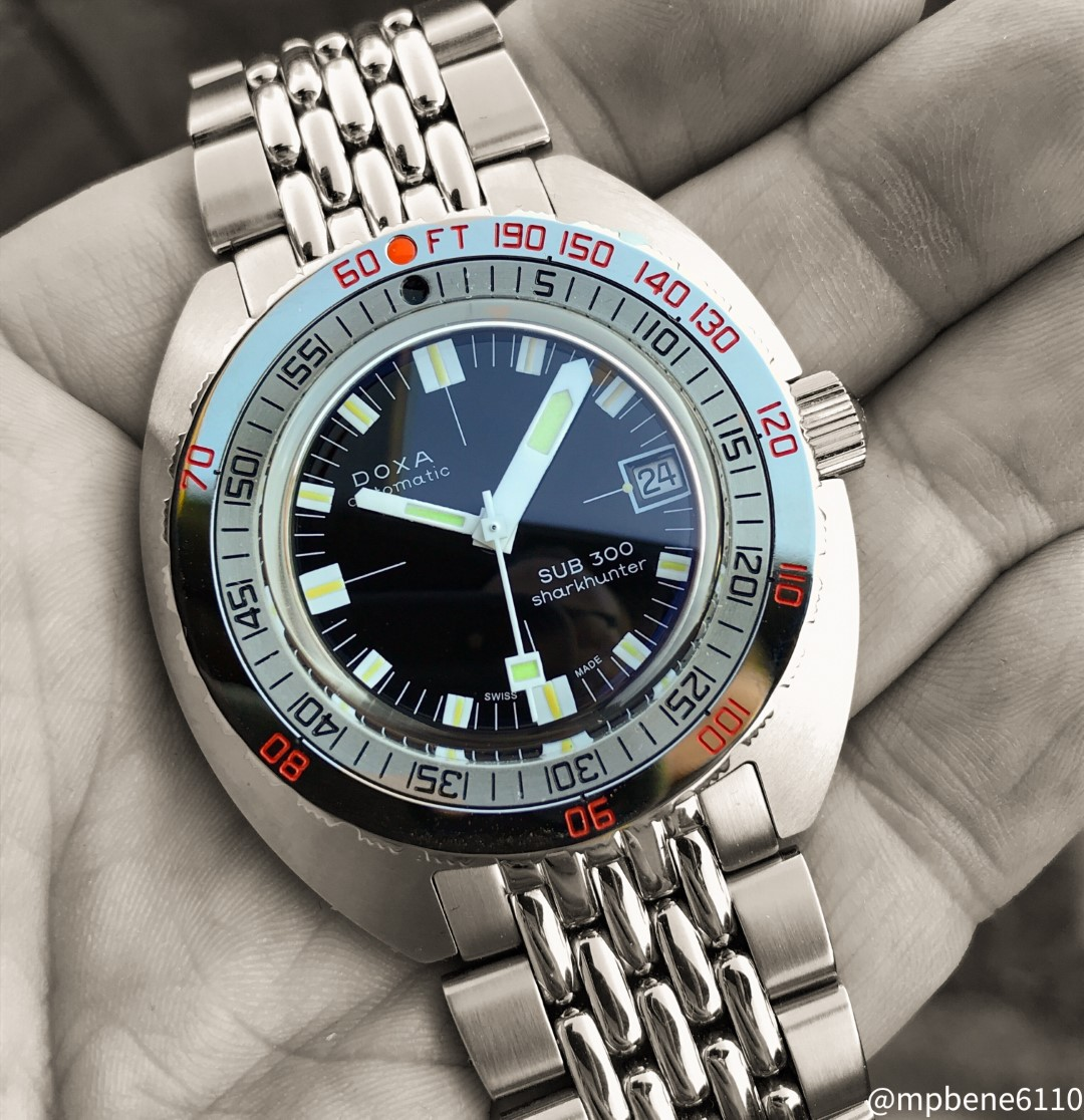 Doxa Sub Sharkhunter 50th Anniversay: The Legend reissued